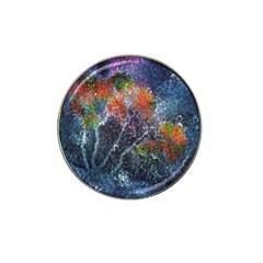 Abstract Digital Art Hat Clip Ball Marker