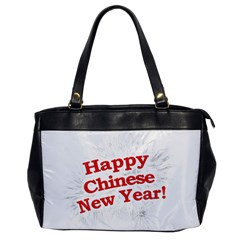 Happy Chinese New Year Design Office Handbags by dflcprints