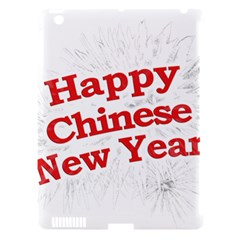 Happy Chinese New Year Design Apple Ipad 3/4 Hardshell Case (compatible With Smart Cover) by dflcprints
