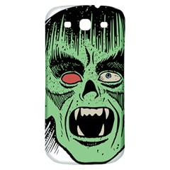 Zombie Face Vector Clipart Samsung Galaxy S3 S Iii Classic Hardshell Back Case