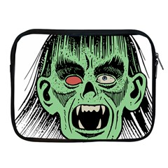 Zombie Face Vector Clipart Apple Ipad 2/3/4 Zipper Cases