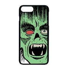Zombie Face Vector Clipart Apple iPhone 7 Plus Seamless Case (Black) by Nexatart