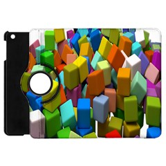 Cubes Assorted Random Toys Apple Ipad Mini Flip 360 Case