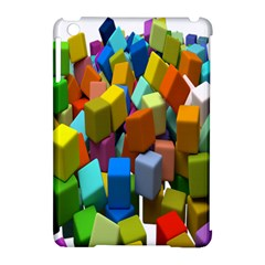 Cubes Assorted Random Toys Apple Ipad Mini Hardshell Case (compatible With Smart Cover) by Nexatart