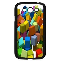 Cubes Assorted Random Toys Samsung Galaxy Grand Duos I9082 Case (black)