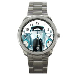 Oldtimer Car Vintage Automobile Sport Metal Watch