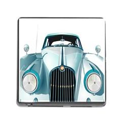Oldtimer Car Vintage Automobile Memory Card Reader (square)