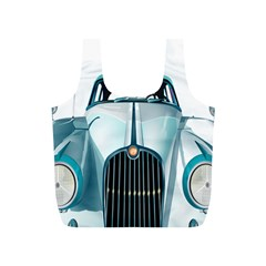 Oldtimer Car Vintage Automobile Full Print Recycle Bags (s)