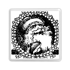 Santa Claus Christmas Holly Memory Card Reader (square)  by Nexatart