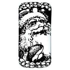 Santa Claus Christmas Holly Samsung Galaxy S3 S Iii Classic Hardshell Back Case