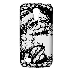 Santa Claus Christmas Holly Galaxy S4 Mini