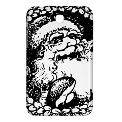 Santa Claus Christmas Holly Samsung Galaxy Tab 3 (7 ) P3200 Hardshell Case