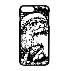 Santa Claus Christmas Holly Apple iPhone 7 Plus Seamless Case (Black)