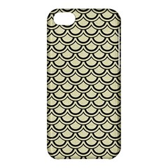 Scales2 Black Marble & Beige Linen (r) Apple Iphone 5c Hardshell Case by trendistuff