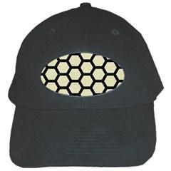 HXG2 BK-MRBL BG-LIN (R) Black Cap by trendistuff