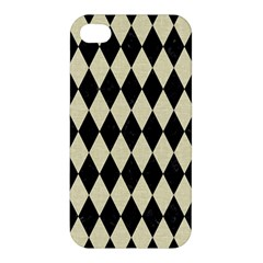 DIA1 BK-MRBL BG-LIN Apple iPhone 4/4S Premium Hardshell Case