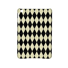 Diamond1 Black Marble & Beige Linen Apple Ipad Mini 2 Hardshell Case by trendistuff