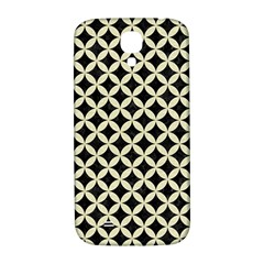 Circles3 Black Marble & Beige Linen Samsung Galaxy S4 I9500/i9505  Hardshell Back Case by trendistuff