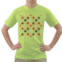 Pearly Pattern Green T Shirt
