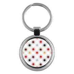 Pearly Pattern Key Chains (round)