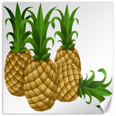 Pineapples Tropical Fruits Foods Canvas 20  X 20