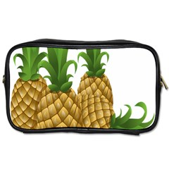 Pineapples Tropical Fruits Foods Toiletries Bags 2 Side by Nexatart