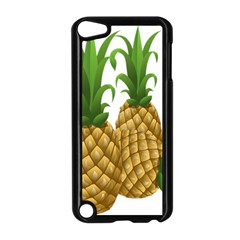 Pineapples Tropical Fruits Foods Apple Ipod Touch 5 Case (black)
