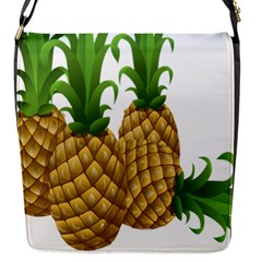 Pineapples Tropical Fruits Foods Flap Messenger Bag (s)