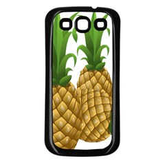 Pineapples Tropical Fruits Foods Samsung Galaxy S3 Back Case (black)
