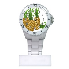 Pineapples Tropical Fruits Foods Plastic Nurses Watch