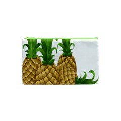 Pineapples Tropical Fruits Foods Cosmetic Bag (xs) by Nexatart