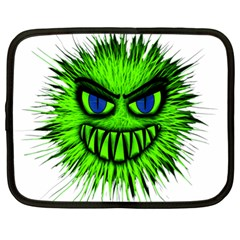 Monster Green Evil Common Netbook Case (xl)