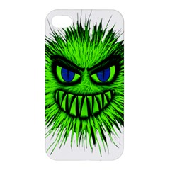 Monster Green Evil Common Apple Iphone 4/4s Premium Hardshell Case