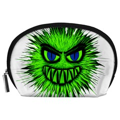 Monster Green Evil Common Accessory Pouches (large)