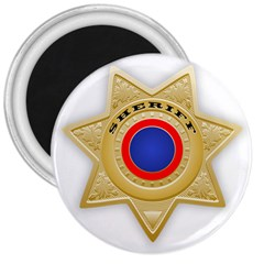 Sheriff S Star Sheriff Star Chief 3  Magnets