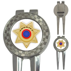 Sheriff S Star Sheriff Star Chief 3-in-1 Golf Divots