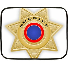 Sheriff S Star Sheriff Star Chief Double Sided Fleece Blanket (Mini)