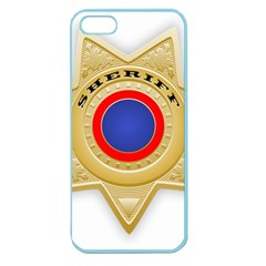 Sheriff S Star Sheriff Star Chief Apple Seamless Iphone 5 Case (color) by Nexatart