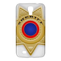 Sheriff S Star Sheriff Star Chief Samsung Galaxy Mega 6 3  I9200 Hardshell Case