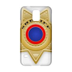 Sheriff S Star Sheriff Star Chief Samsung Galaxy S5 Hardshell Case  by Nexatart
