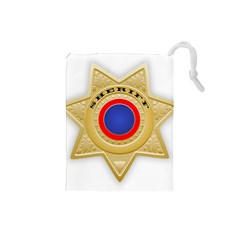 Sheriff S Star Sheriff Star Chief Drawstring Pouches (small)
