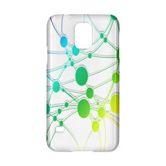 Network Connection Structure Knot Samsung Galaxy S5 Hardshell Case  by Nexatart