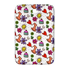 Doodle Pattern Samsung Galaxy Note 8 0 N5100 Hardshell Case