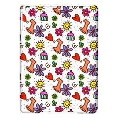 Doodle Pattern Ipad Air Hardshell Cases