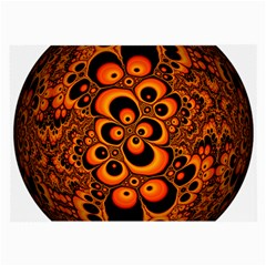 Fractals Ball About Abstract Large Glasses Cloth (2 Side)