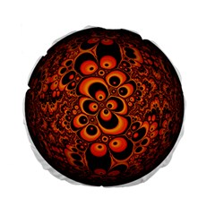 Fractals Ball About Abstract Standard 15  Premium Flano Round Cushions