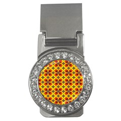 Seventies Hippie Psychedelic Circle Money Clips (cz)  by Nexatart