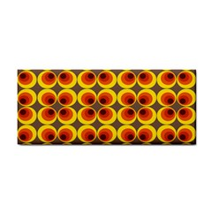 Seventies Hippie Psychedelic Circle Cosmetic Storage Cases