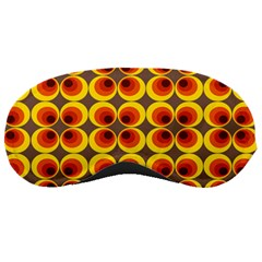 Seventies Hippie Psychedelic Circle Sleeping Masks