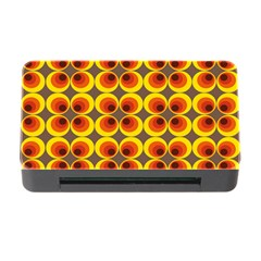 Seventies Hippie Psychedelic Circle Memory Card Reader With Cf by Nexatart
